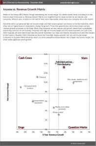 Soft Drink and Ice Manufacturing BCG Matrix