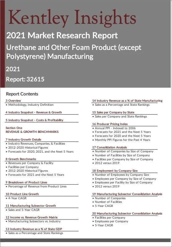 Urethane-Other-Foam-Product-except-Polystyrene-Manufacturing Report
