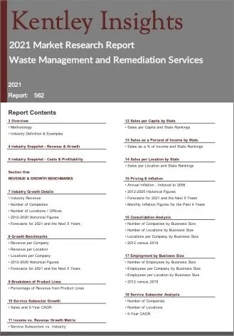 Waste Management Remediation Services Report