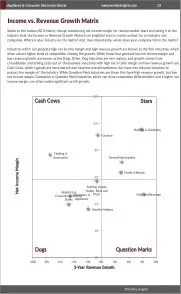 Appliance & Consumer Electronics Stores BCG Matrix
