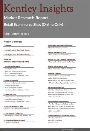 Retail Ecommerce Sites (Online Only) Market Research Report