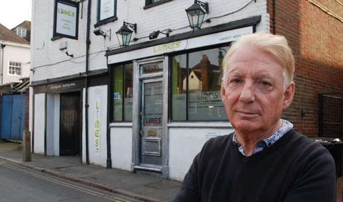 """Tony Butcher, owner of Limes Lounge: """"Anyone who likes the gay community is welcome."""""""
