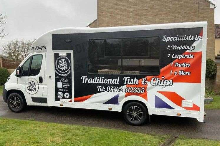 Al's Chippy will be driving around Sittingbourne from May 3 (46598443)