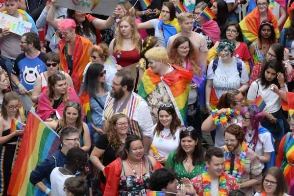Gay Pride Event Bring Hundreds Medway Council