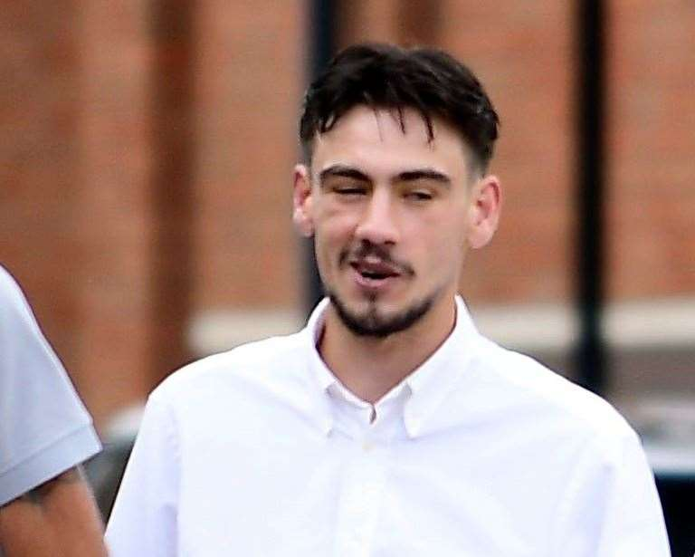 Belcher Barron at Canterbury Crown Court. Picture: Barry Goodwin