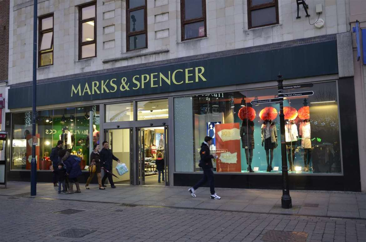 Marks & Spencer in Maidstone. Image: Bob Kitchin