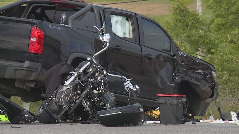 Couple Killed When Motorcycle Hits
