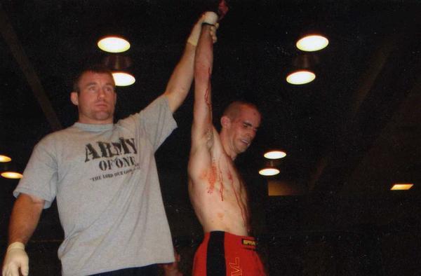 Jeremy Patton Hand Raised by Matt Hughes 9-16-06