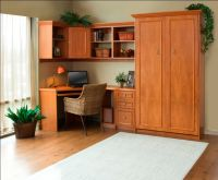 Murphy Bed Home Office Space