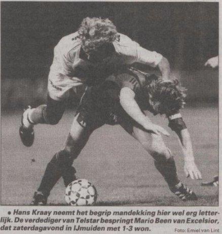 Hans Kraay jr rugdekking