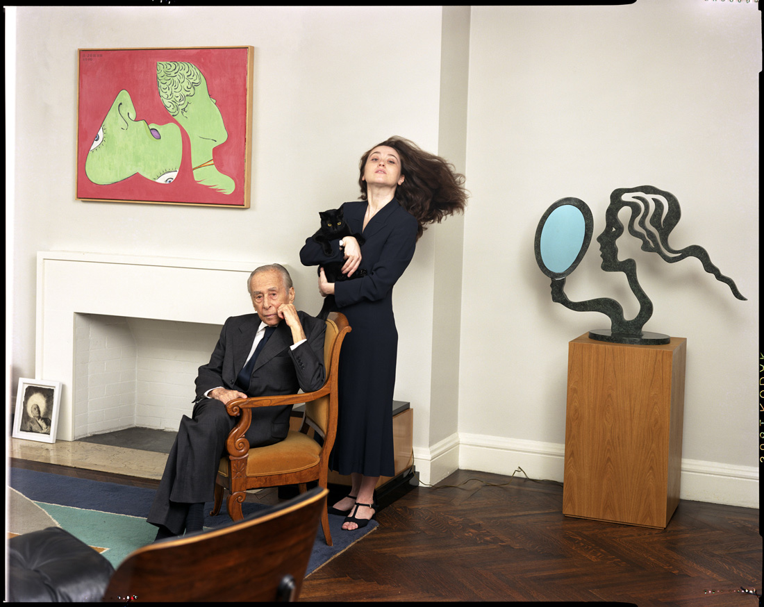 Mr. and Mrs. Leo Castelli, W Magazine - PK 20112