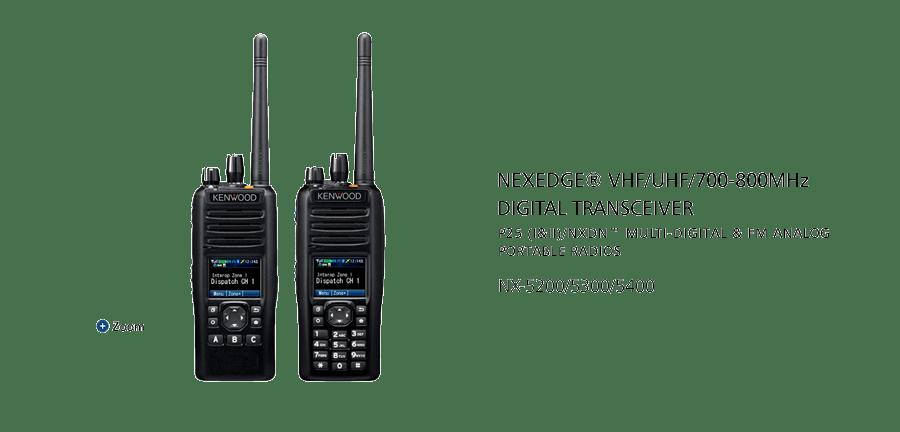 NX-5200_5300_5400 VHF/UHF/700-800MHz Digital Transceiver