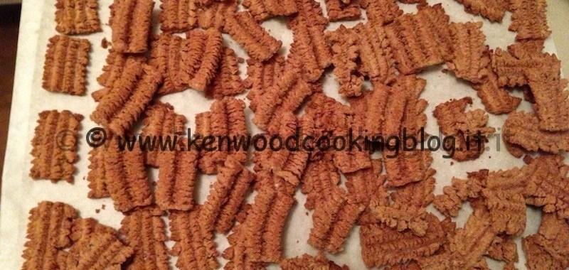 Ricetta biscotti con torchio e trafila spara biscotti per Kenwood