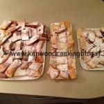 Ricetta Bugie o chiacchere con il Kenwood CC per carnevale