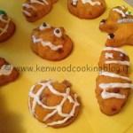 Ricetta Muffin di Halloween alle carote e cioccolato Kenwood
