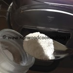 Preparazione zucchero a velo Kenwood