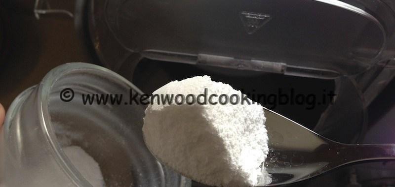 Video preparazione zucchero a velo Kenwood