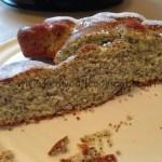 Ricetta torta ai semi di papavero Kenwood