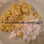 Ricetta indiana pollo al curry e latte di cocco Kenwood