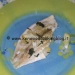 Ricetta platessa al vapore al fumo di limone ed erbe aromatiche Kenwood