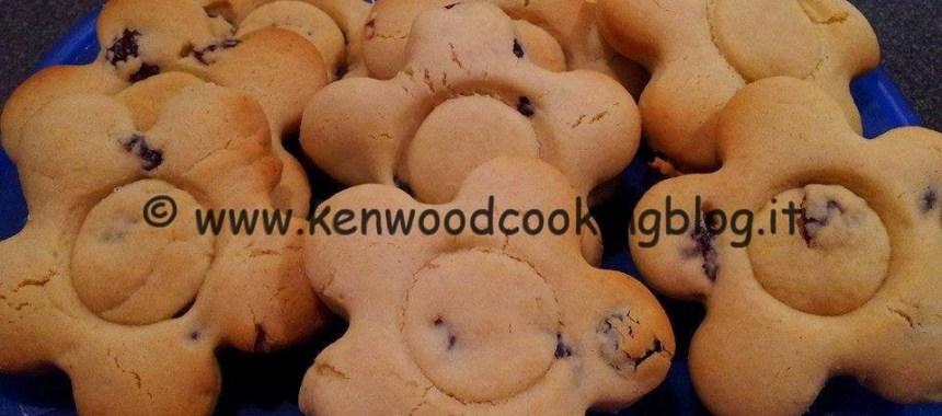 Ricetta biscotti di riso e kamut con frutti rossi Kenwood