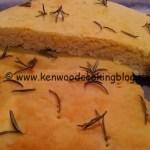 Ricetta focaccia di Kamut Kenwood