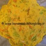 Ricetta frittata con fiori di zucca Kenwood