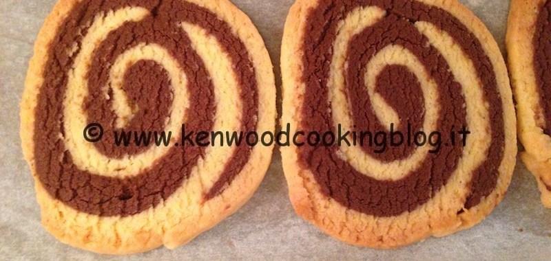 Ricetta girelle crema e cioccolato di frolla Kenwood