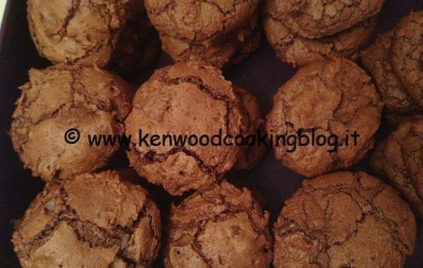 Ricetta biscotti morbidi al cioccolato Kenwood