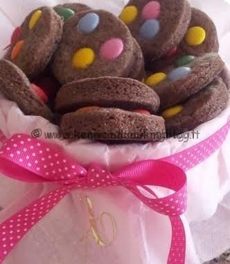 Ricetta biscotti cookies con smarties Kenwood