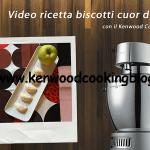 Video ricetta biscotti cuor di mela Kenwood
