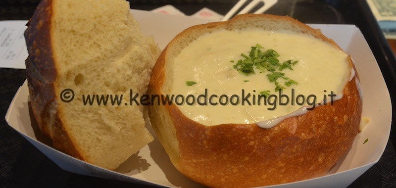 Ricetta New England Clam Chowder zuppa di vongole Kenwood