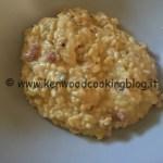 Ricetta risotto alla zucca con robiola e pancetta Kenwood