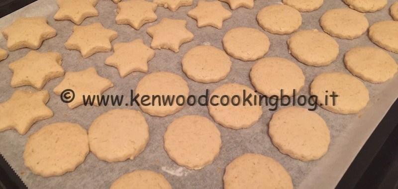 Ricetta biscotti di riso senza uova e burro Kenwood
