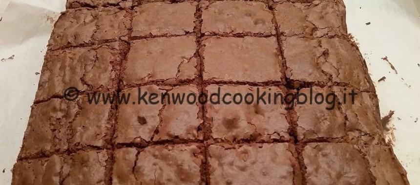 Ricetta Brownies al cioccolato Kenwood