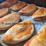 Ricetta panzerotti calzoni al forno con esubero Kenwood
