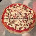 Ricetta impasto Pizza con farina integrale e grano saraceno e poco lievito Kenwood