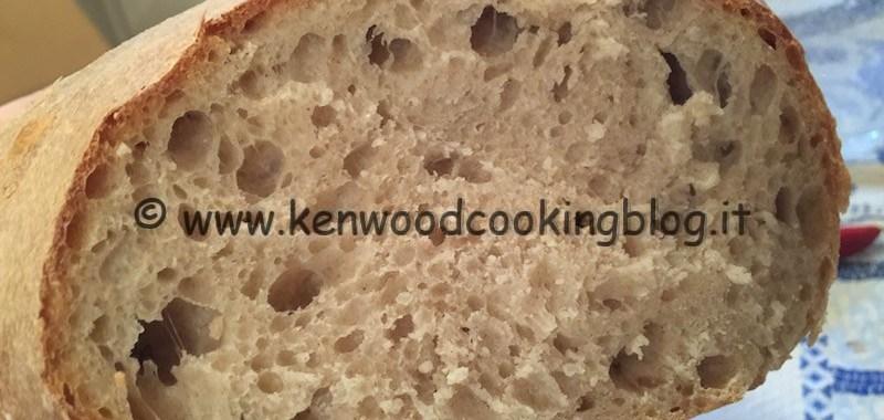 Ricetta pane con esubero di pasta madre veloce Kenwood