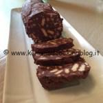 Ricetta salame di cioccolato Kenwood