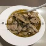 Ricetta bocconcini di tacchino in umido con funghi, olive e capperi Kenwood
