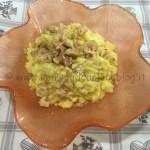 Ricetta risotto giallo con gorgonzola e noci Kenwood