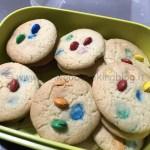 Ricetta biscotti cookies M&M's