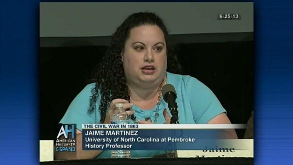 Dr. Jamie Martinez, UNC - Pembroke