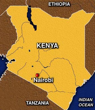 Our first week in nairobi kenya alba world tour this is a map of kenya the red dot is nairobi we are staying in nairobi for three weeks we have the coolest apartment it is in a community of apartments gumiabroncs Choice Image