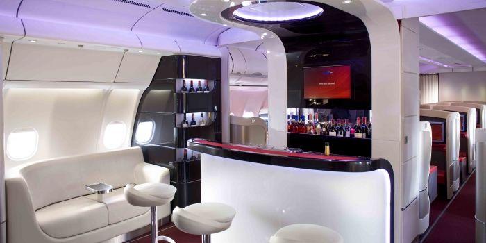 Arik Air onboard bar