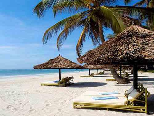Hôtel 5 étoiles Diani reef diani beach kenya