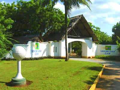 Leisure lodge et golf safari et plage au Kenya