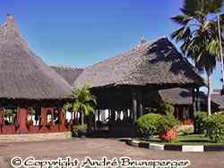 Reception - Hotel Neptune Paradise 4 stars Diani Beach kenya. Very good.