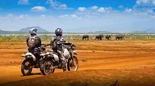 kenya travel motorbike safaris
