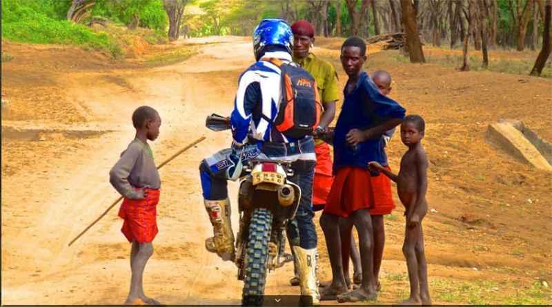 Kenya travel motorbike safaris.